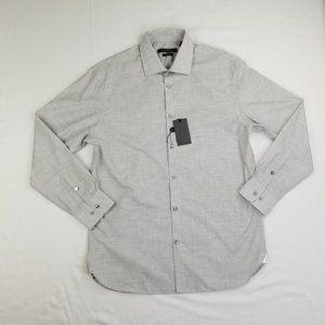 John Varvatos USA 15.5 32/33 Medium Logo Tag Shirt